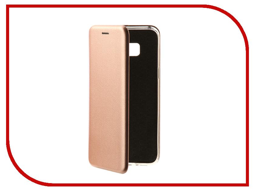 Аксессуар Чехол-книга Samsung Galaxy S8 Plus Monsterskin Book Pink Gold 10541 аксессуар защитное стекло samsung galaxy s8 plus onext 3d gold 41266