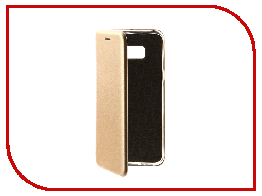 Аксессуар Чехол-книга для Samsung Galaxy S8 Plus Innovation Book Gold 10540 аксессуар чехол для samsung galaxy a8 plus 2018 innovation book gold 11973