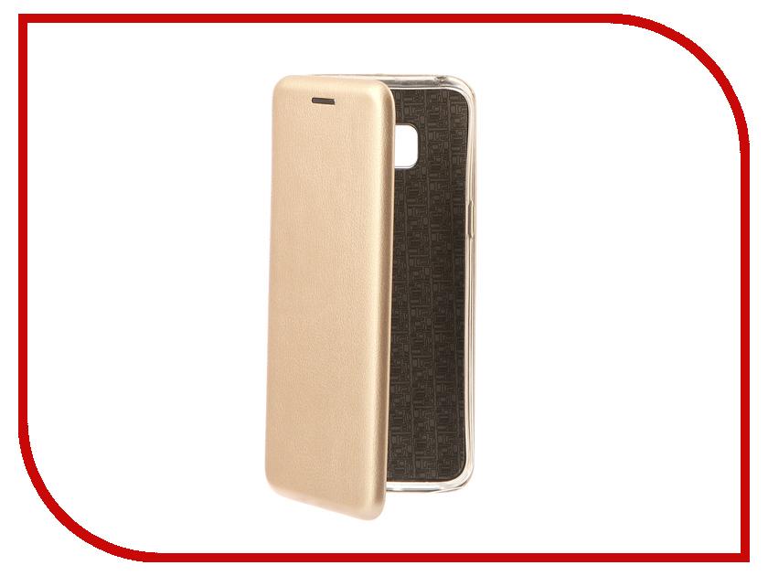 Аксессуар Чехол-книга Samsung Galaxy S8 Monsterskin Book Gold 10536 аксессуар чехол книга monsterskin book gold для apple iphone 6 6s 10562