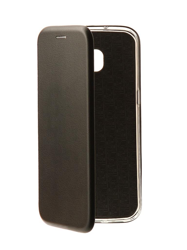 Аксессуар Чехол-книга Innovation Book для Samsung Galaxy S7 Edge Black 10535 все цены