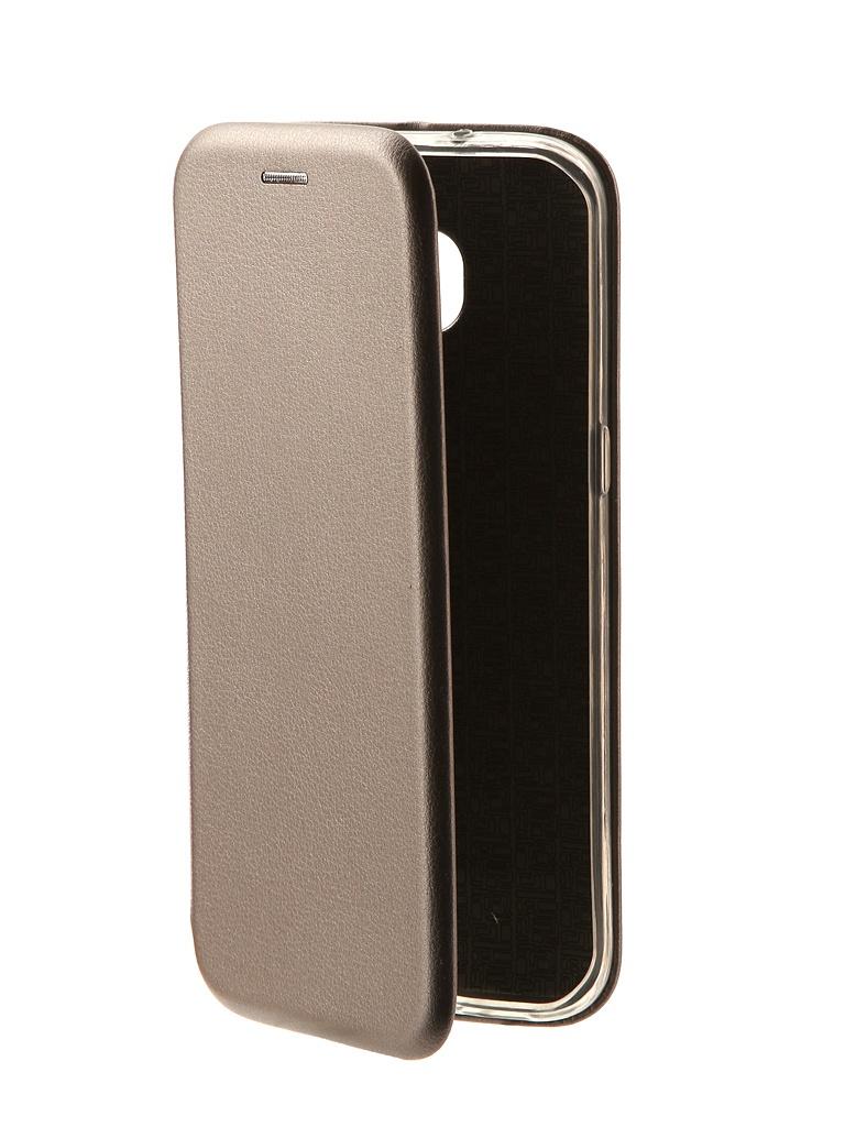 Аксессуар Чехол Innovation Book для Samsung Galaxy S7 Edge Silver 10534 стоимость