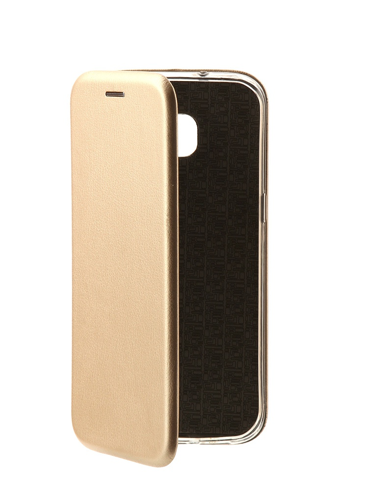 Аксессуар Чехол-книга Innovation Book для Samsung Galaxy S7 Edge Gold 10532 все цены