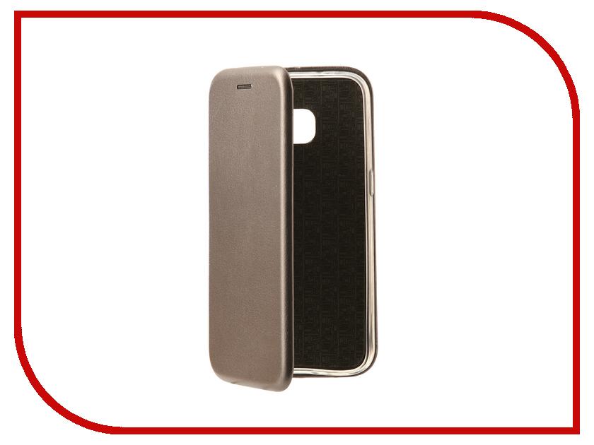 Аксессуар Чехол-книга для Samsung Galaxy S7 Innovation Book Silver 10529 цена и фото