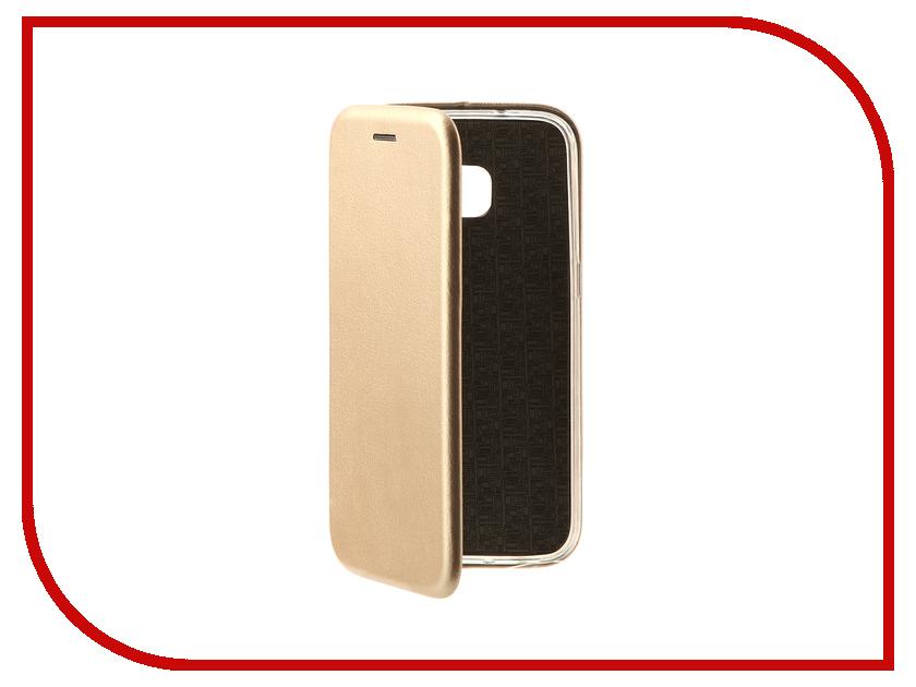 Аксессуар Чехол-книга для Samsung Galaxy S7 Innovation Book Gold 10530 цена и фото