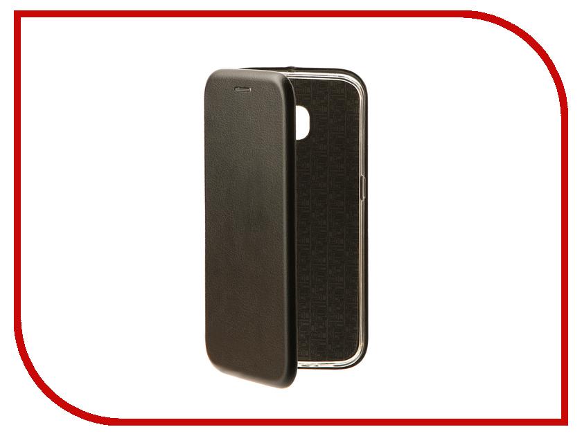 Аксессуар Чехол-книга для Samsung Galaxy S6 Edge Innovation Book Black 10527 cellular line book agenda чехол для samsung galaxy s6 edge black 24065