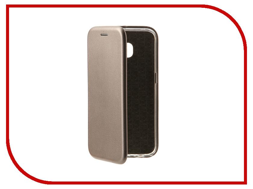 Аксессуар Чехол-книга для Samsung Galaxy S6 Edge Innovation Book Silver 10526 аксессуар защитное стекло samsung g925f galaxy s6 edge caseguru 3d 0 33mm white