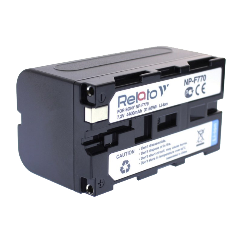 Аккумулятор Relato NP-F770 (схожий с Sony NP-F770) ismart replacement np fh50 np fh60 7 2v 1050mah battery for sony black