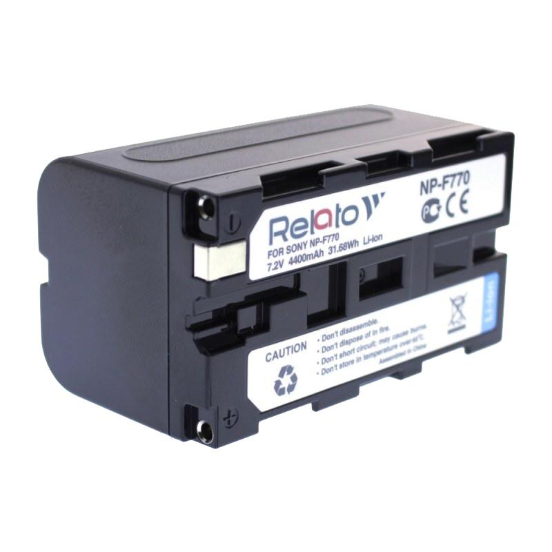 Фото - Аккумулятор Relato NP-F770 для Sony аккумулятор greenbean np f970 25973
