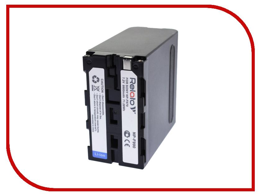 Аккумулятор Relato NP-F990 np f970 купить