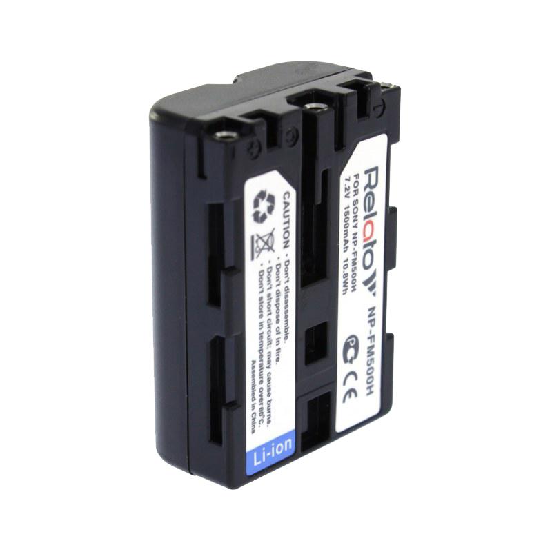 Аккумулятор Relato NP-FM500H (схожий с Sony NP-FM500H) аккумулятор relato np bg1