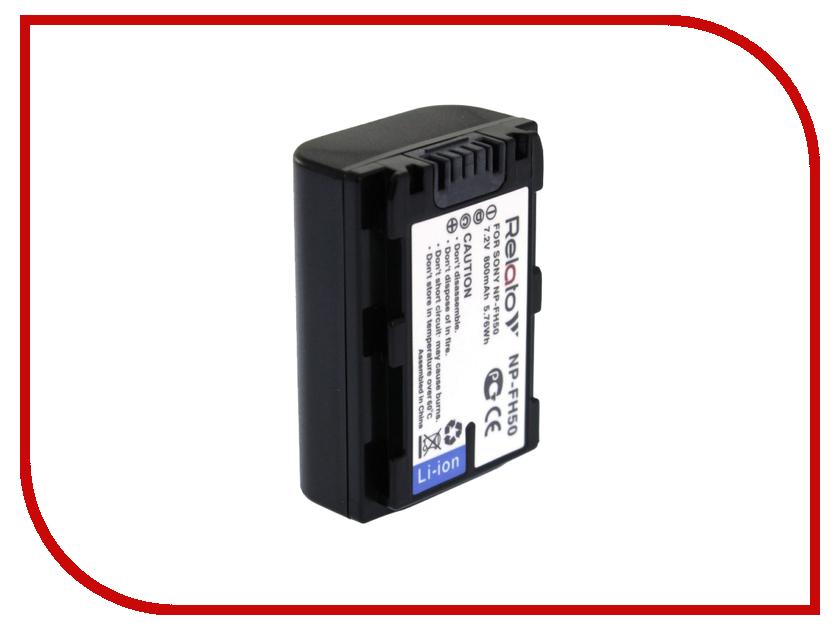 Аккумулятор Relato NP-FH50 np f970 купить