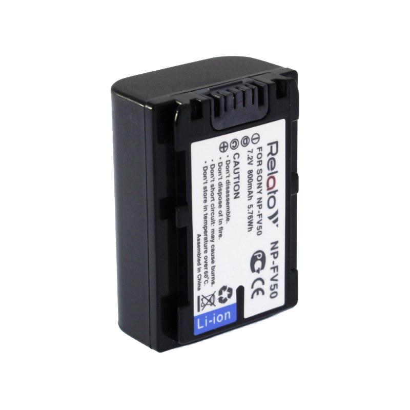 Фото - Аккумулятор Relato NP-FV50 для Sony аккумулятор greenbean np f970 25973