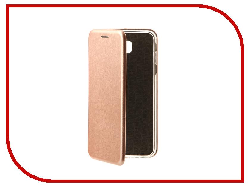 Аксессуар Чехол-книга Samsung Galaxy J5 Prime 2016 G570 Monsterskin Book Pink Gold 10517 аксессуар чехол samsung galaxy j5 prime g570 gecko white s g sgj5pr wh