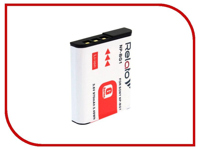 Аккумулятор Relato NP-BG1 sony np bg1 battery