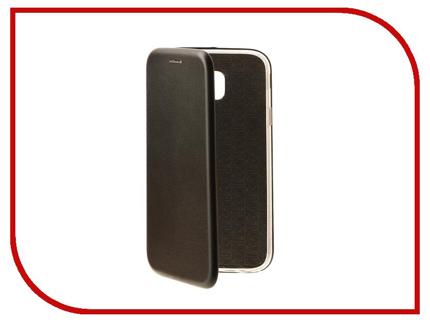 Здесь можно купить   Аксессуар Чехол Samsung Galaxy J3 2017 J330F Innovation Book Black 10511