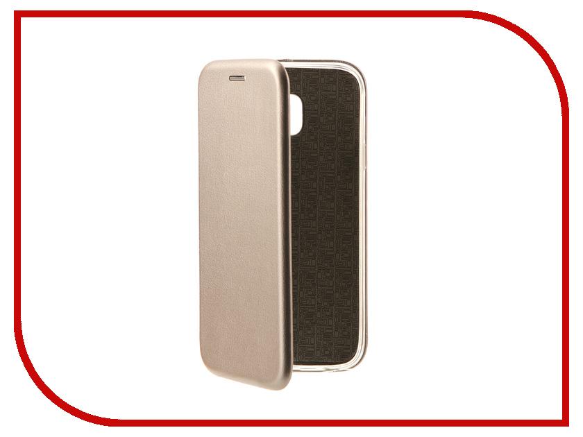Аксессуар Чехол-книга для Samsung Galaxy J3 2017 J330F Innovation Book Silver 10510 аксессуар чехол samsung j3 2017 j330f zibelino clear view black zcv sam j330 blk