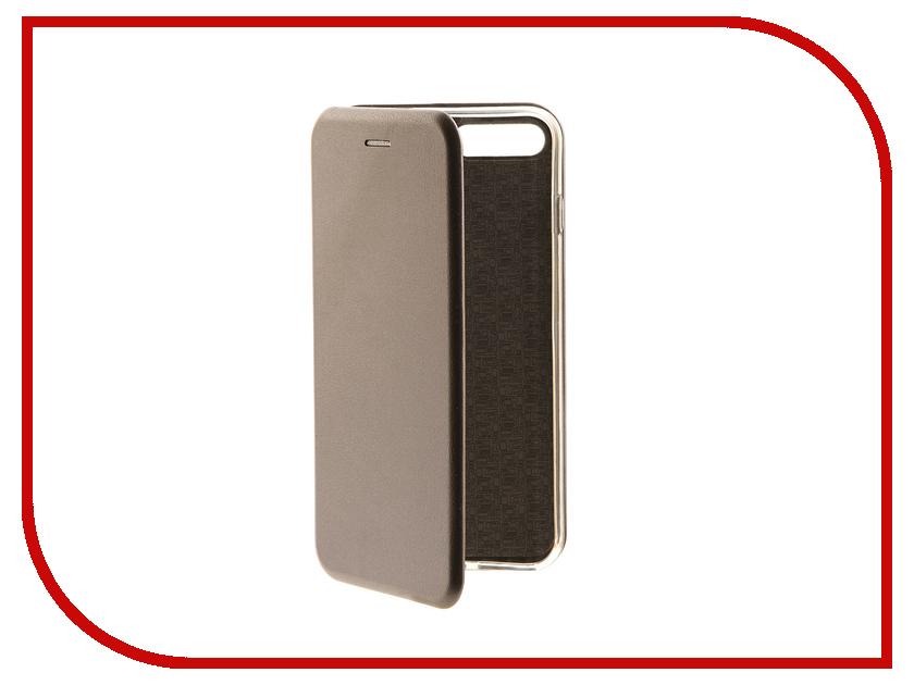 Аксессуар Чехол-книга Innovation Book для APPLE iPhone 7 Plus Silver 10549