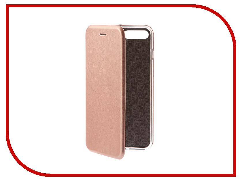 Аксессуар Чехол-книга Innovation Book Pink Gold для APPLE iPhone 7 Plus 10550