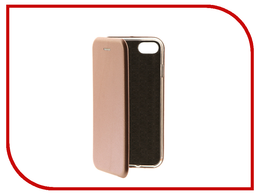 Аксессуар Чехол-книга Monsterskin Book Pink Gold для APPLE iPhone 7 10553 аксессуар чехол cojess book case new для apple iphone 7 7s black