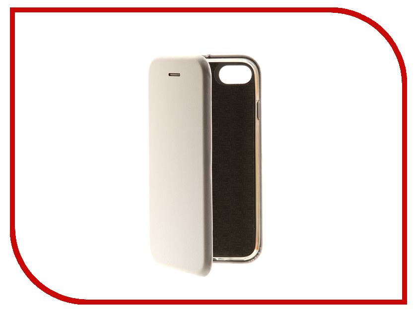 Аксессуар Чехол-книга Innovation Book для APPLE iPhone 7 White 10555