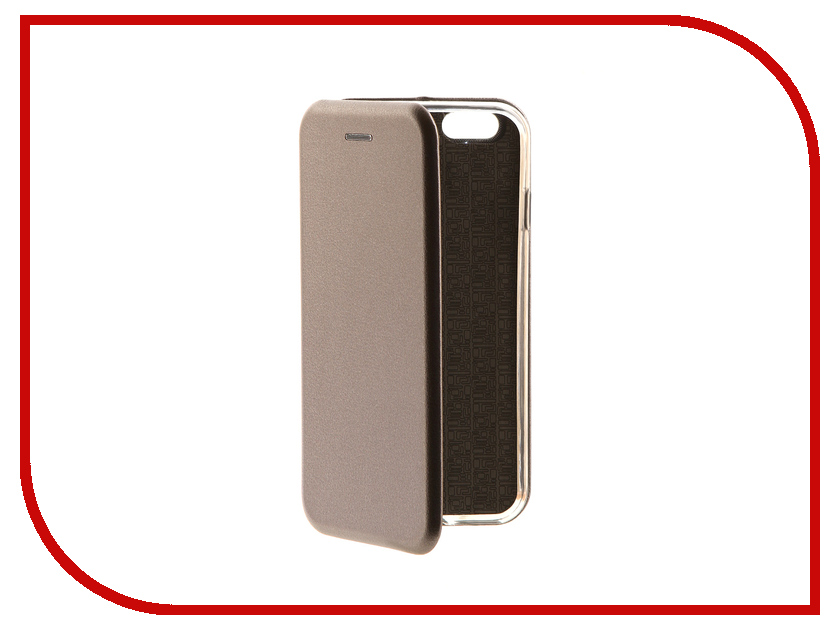 Аксессуар Чехол-книга для APPLE iPhone 6 / 6S Innovation Book Silver 10560 chocolate кошелек chocolate garvey tyvek one size