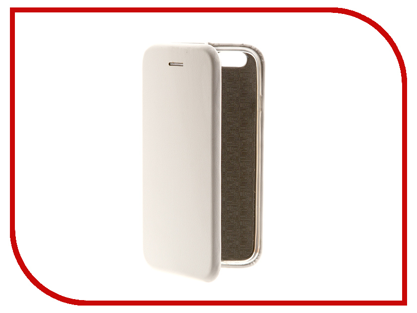 Аксессуар Чехол-книга Innovation Book для APPLE iPhone 6/6S White 10563