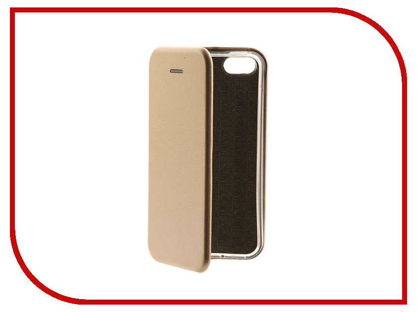 Аксессуар Чехол-книга для APPLE iPhone 5 / 5S / SE Innovation Book Gold 10567 аксессуар solomon iphone 5 5s se 22 5cm white