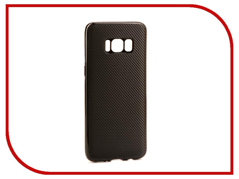 Аксессуар Чехол Samsung Galaxy S8 Neypo Neon Silicone Carbon Black NSTC3112 аксессуар чехол samsung galaxy a7 2017 with love moscow silicone russia 5090