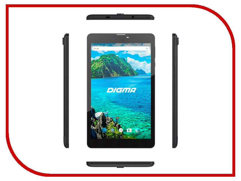 Планшет Digma Plane 8549S 4G (Spreadtrum SC9832 1.3 GHz/1024Mb/16Gb/4G/Wi-Fi/GPS/Cam/8.0/1280x800/Android) планшет ginzzu gt 7110 black spreadtrum sc9832 1 3 ghz 1024mb 8gb gps lte 3g wi fi bluetooth cam 7 0 1280x800 android
