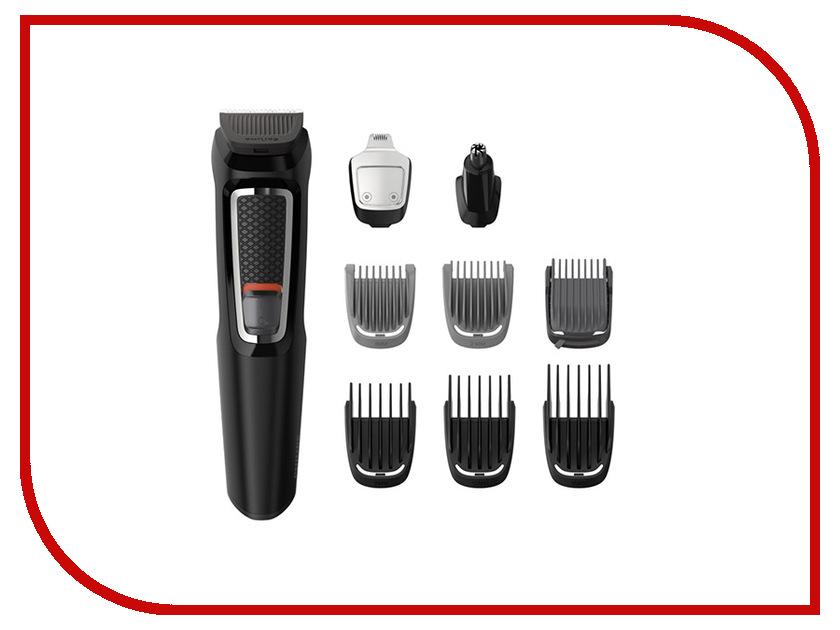 Машинка для стрижки волос Philips Multigroom MG3740 машинка для стрижки волос philips qc 5115 15 цена