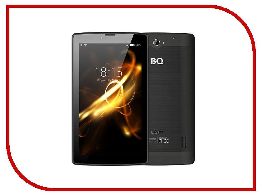 Планшет BQ 7083G Light Black