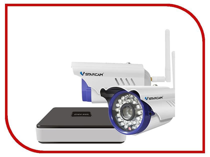 Видеонаблюдение VStarcam NVR C15-2 KIT vstarcam nvr c16 kit система видеонаблюдения