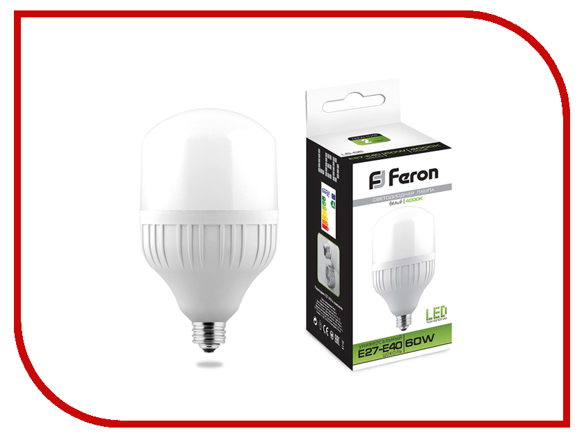 Лампочка Feron LB-65 E27-E45 60W 4000K 25821 фигурки игрушки bullyland роттвейлер фиона