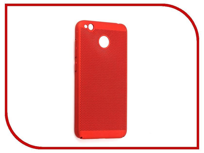 Аксессуар Чехол для Xiaomi Redmi 4X Neypo Soft Touch с перфорацией Red ST2824 аксессуар