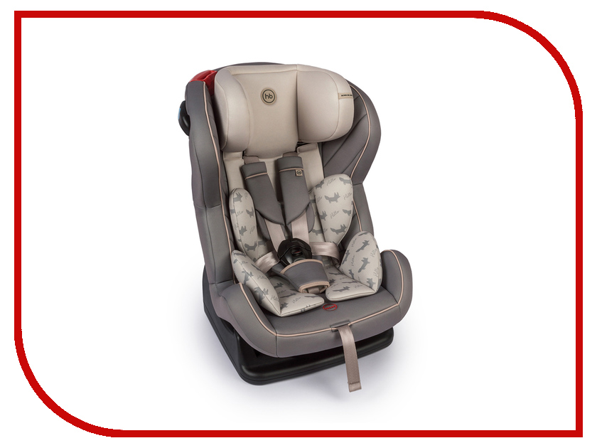 Автокресло Happy Baby Passenger V2 Gray 4690624020834 happy baby автокресло skyler 0 13 кг happy baby