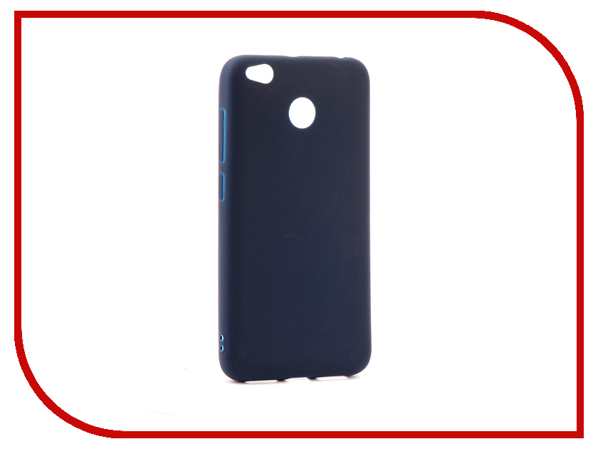 Аксессуар Чехол Xiaomi Redmi 4X Neypo Soft Matte Silicone Dark Blue NST3135