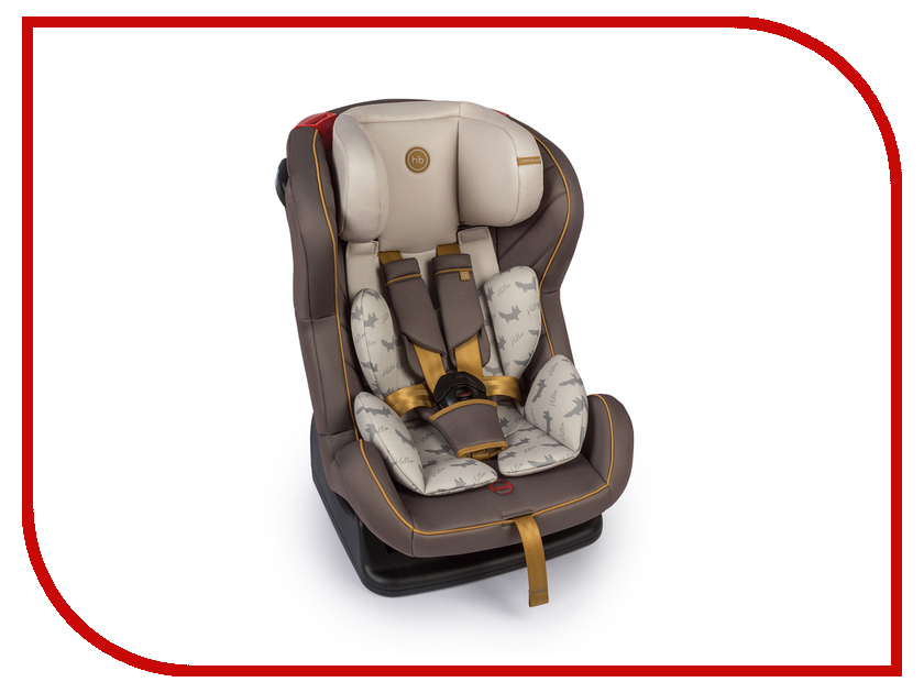 Автокресло Happy Baby Passenger V2 Brown 4690624020841 happy baby автокресло skyler 0 13 кг happy baby
