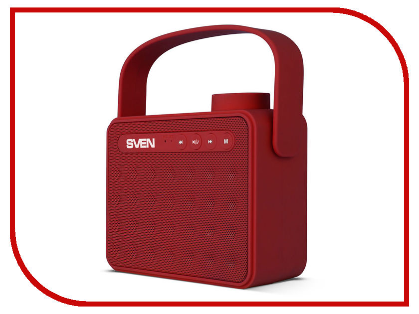 Колонка Sven PS-72 Red SV-016074 колонка sven ps 170bl sv 014612 black