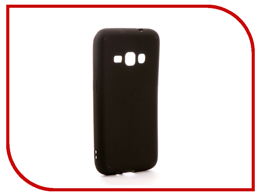 Аксессуар Чехол для Samsung Galaxy J1 2016 SM-J120H/DS Neypo Soft Matte Silicone Black NST0216 аксессуар чехол samsung galaxy j1 j100h ds cojess silicone 0 3mm black mate