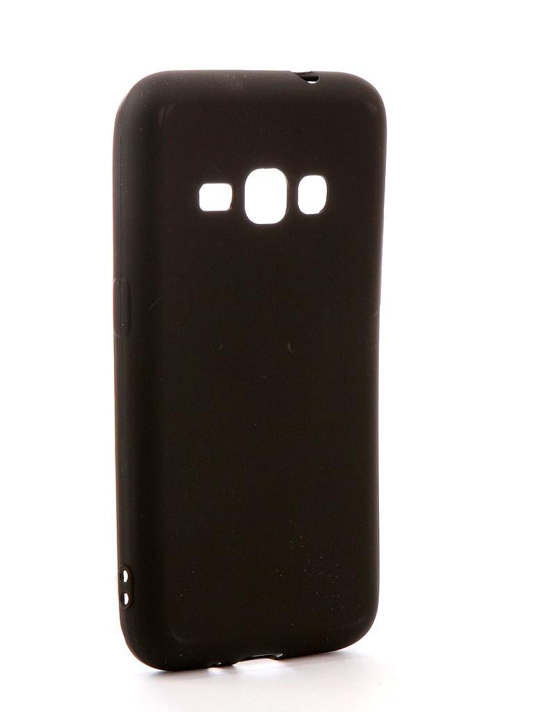 Аксессуар Чехол Neypo для Samsung Galaxy J1 2016 SM-J120H/DS Soft Matte Silicone Black NST0216 аксессуар чехол для samsung galaxy j1 2016 sm j120f ds zibelino classico green zcl sam j1 2016 grn