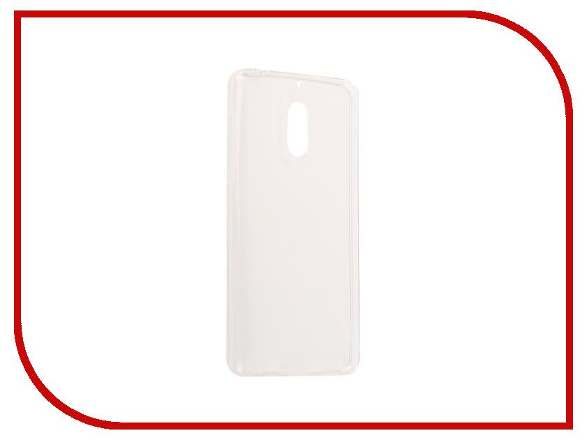 Аксессуар Чехол Nokia 6 Neypo Silicone Transparent NST0352