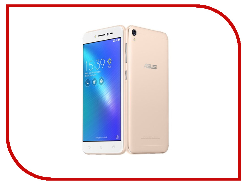 Сотовый телефон ASUS Zenfone Live ZB501KL 16Gb Gold asus zenfone zoom zx551ml 128gb 2016 black