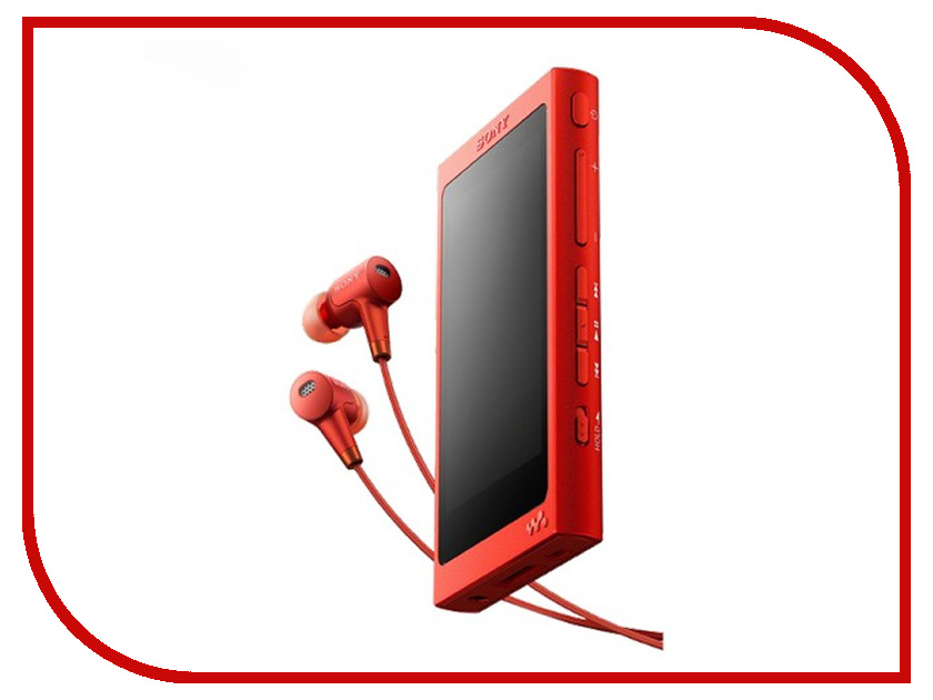 Плеер Sony NW-A35HN Red