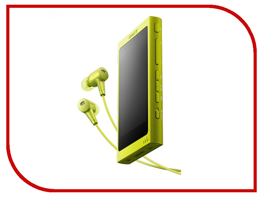 Zakazat.ru: Плеер Sony NW-A35HN Yellow