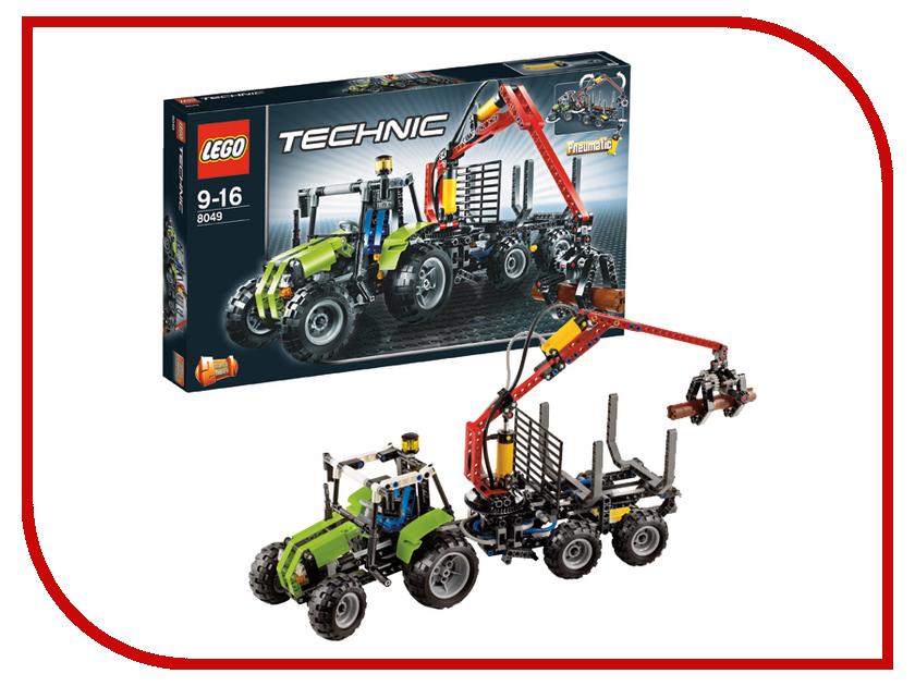 Конструктор Lego Technic Трактор с лесопогрузчиком 8049 конструктор lego technic дорожная техника 42060
