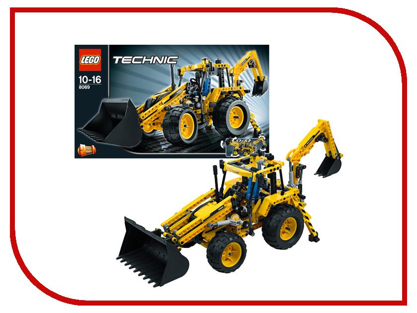 Конструктор Lego Technic Экскаватор-погрузчик 8069 конструктор lego technic дорожная техника 42060