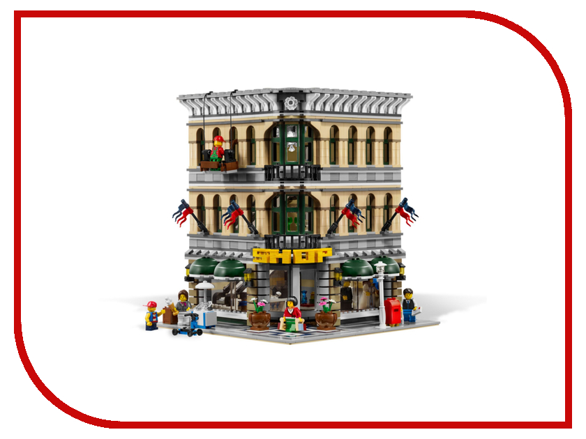 Конструктор Lego Creator Большой универмаг 10211 конструктор lego creator мотоцикл оранжевый 31059