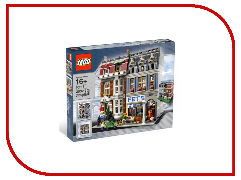 Конструктор Lego Creator Зоомагазин 10218 конструктор lego creator путешествие по воздуху 31047