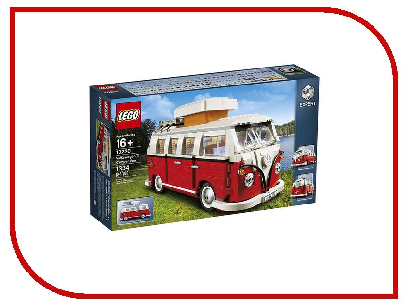 Конструктор Lego Creator Volkswagen T1 Camper Van 10220 конструктор lego creator мотоцикл оранжевый 31059