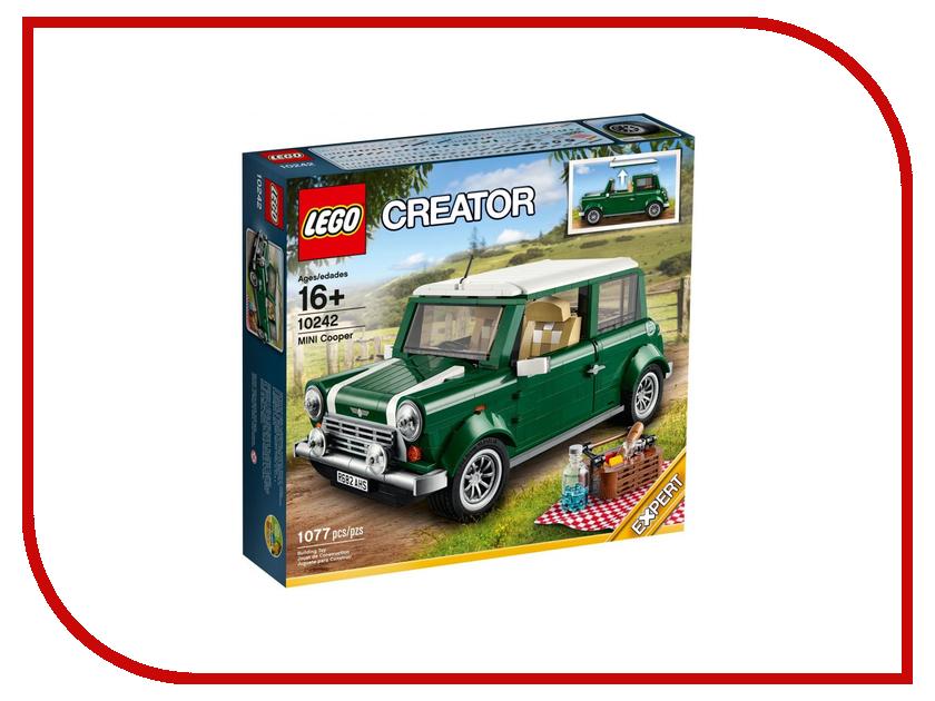 конструктор lego creator реактивный самолет 31042 Конструктор Lego Creator Mini Cooper 10242